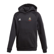 Thornton Bantam Roosters Adidas Black Junior Fleece Hoody