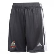 Thornton Bantam Roosters Adidas Black Junior Training Shorts