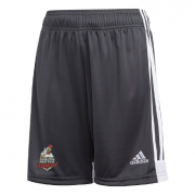 Thornton Bantam Roosters Adidas Black Training Shorts