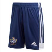 Haydock CC Adidas Navy Junior Training Shorts