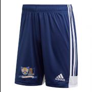 Heytesbury and Sutton Veny CC Adidas Navy Junior Training Shorts