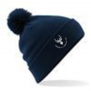 Staines and Laleham CC Navy AR Bobble Beanie