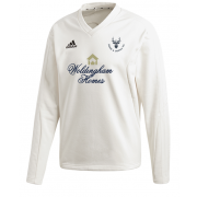 Staines and Laleham CC Adidas Elite Long Sleeve Sweater