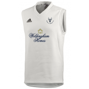 Staines and Laleham CC Adidas Elite Junior Sleeveless Sweater