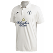 Staines and Laleham CC Adidas Elite Junior Short Sleeve Shirt