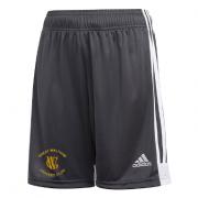 Great Waltham CC Adidas Black Junior Training Shorts