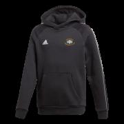 Slinford CC Adidas Black Junior Fleece Hoody