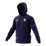 Great Oakley CC Adidas Navy Junior Fleece Hoody