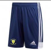Great Oakley CC Adidas Navy Junior Training Shorts