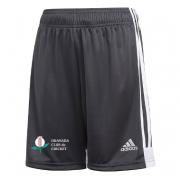 Granada CC Adidas Black Junior Training Shorts