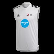Granada CC Adidas White Training Vest