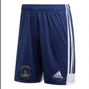 Rocklands CC Adidas Navy Junior Training Shorts