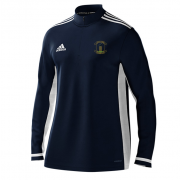 Rocklands CC Adidas Navy Zip Training Top
