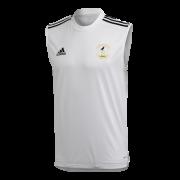 Rocklands CC Adidas White Training Vest