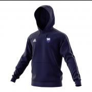 Dormansland CC Adidas Navy Junior Fleece Hoody