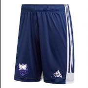 Dormansland CC Adidas Navy Junior Training Shorts