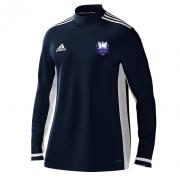 Dormansland CC Adidas Navy Zip Training Top