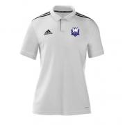 Dormansland CC Adidas White Polo