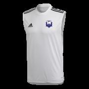 Dormansland CC Adidas White Training Vest
