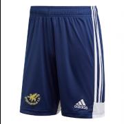 Stocksfield CC Adidas Navy Training Shorts
