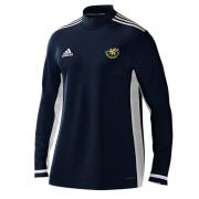 Stocksfield CC Adidas Navy Zip Training Top
