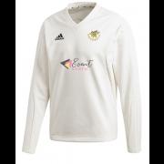 Stocksfield CC Adidas Elite Long Sleeve Sweater