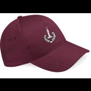 New Earswick CC Maroon Baseball Cap