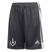 New Earswick CC Adidas Black Junior Training Shorts
