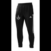 New Earswick CC Adidas Black Training Pants