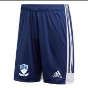 Egremont CC Adidas Navy Training Shorts