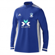 Egremont CC Adidas Royal Blue  Zip Training Top