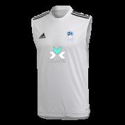 Egremont CC Adidas White Training Vest