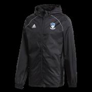 Egremont CC Adidas Junior Black Rain Jacket
