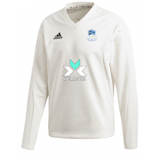 Egremont CC Adidas Elite Long Sleeve Sweater