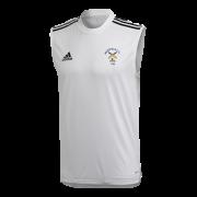 Westfield CC Adidas White Training Vest