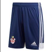 Southam CC Adidas Navy Junior Training Shorts