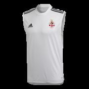 Southam CC Adidas White Training Vest