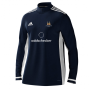 Latchmere Wanderers CC Adidas Navy Zip Training Top