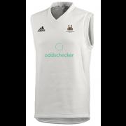 Latchmere Wanderers CC Adidas Elite Junior Sleeveless Sweater