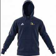 Mark Lawson Cricket Academy Adidas Navy Fleece Hoody