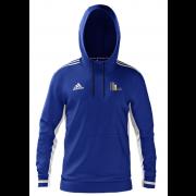 Mark Lawson Cricket Academy Adidas Royal Blue Junior Hoody