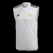 Mark Lawson Cricket Academy Adidas White Training Vest