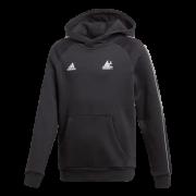 Strongroom CC Adidas Black Junior Fleece Hoody