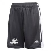 Strongroom CC Adidas Black Junior Training Shorts