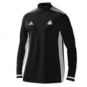 Strongroom CC Adidas Black Zip Training Top