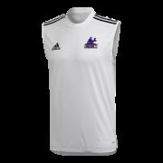 Strongroom CC Adidas White Training Vest