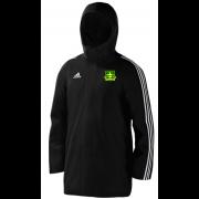 Lymm OPCC Black Adidas Stadium Jacket