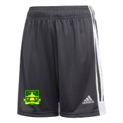 Lymm OPCC Adidas Black Junior Training Shorts