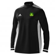 Lymm OPCC Adidas Black Zip Training Top