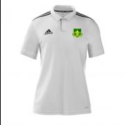 Lymm OPCC Adidas White Polo